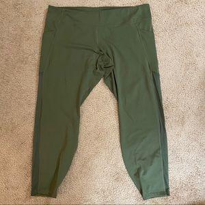 Old Navy active green leggings 3X